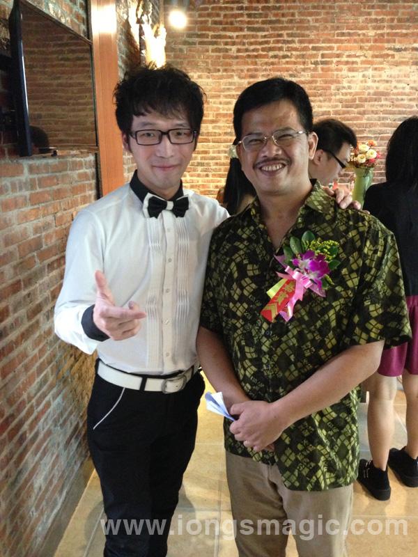 蔡潔輝為微電影選拔賽作表演嘉賓
