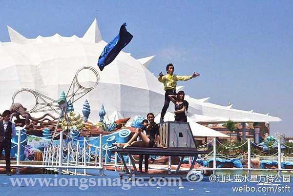 蔡潔輝汕頭方特樂園邀請 表演受歡迎